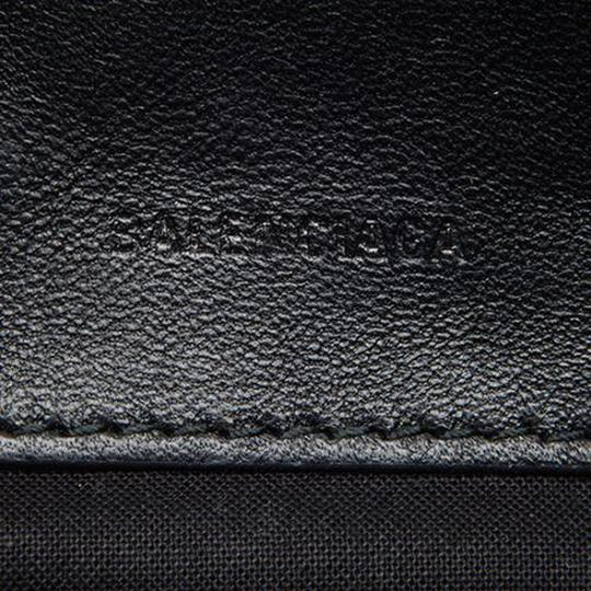 Balenciaga Leather Reporter Cross Body Bag Image 6