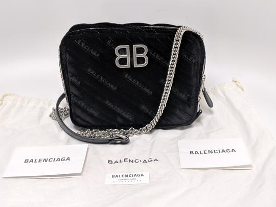 Balenciaga Leather Reporter Cross Body Bag Image 9