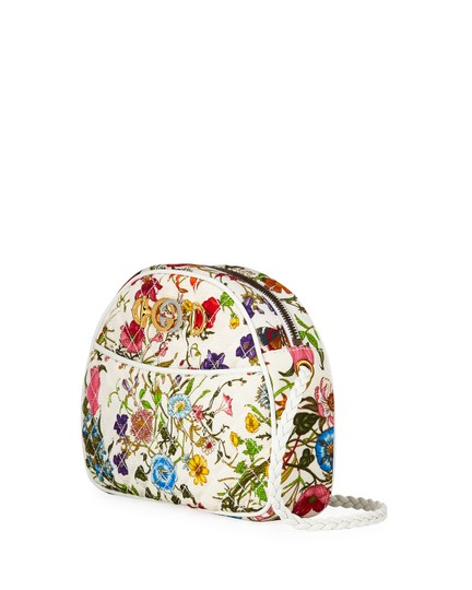 Gucci Quilted Trapuntata Floral New Cross Body Bag Image 1