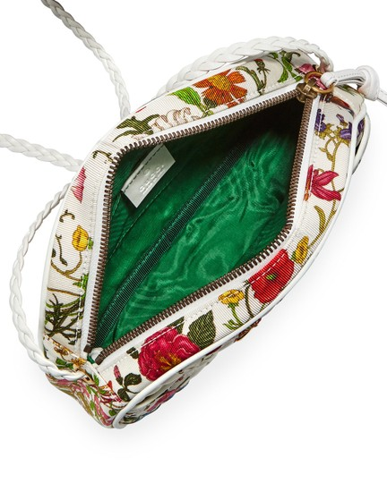 Gucci Quilted Trapuntata Floral New Cross Body Bag Image 3