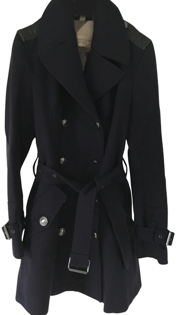 Preload https://img-static.tradesy.com/item/25997866/burberry-dark-blue-brit-military-navy-wool-double-breasted-coat-size-8-m-0-3-650-650.jpg