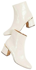 Tory Burch Leather Ivory off white Boots