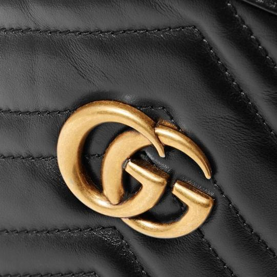 Gucci Purse Gg Marmont Bucket Cross Body Bag Image 2
