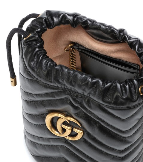 Gucci Purse Gg Marmont Bucket Cross Body Bag Image 4