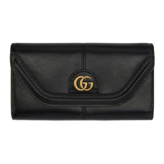 Preload https://item1.tradesy.com/images/gucci-black-linea-small-gg-leather-continental-wallet-25997945-0-1.jpg?width=440&height=440