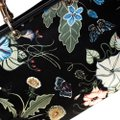 Gucci Canvas Leather Tote in Black Image 10