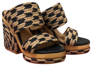 Tory Burch perfect Navy/natural Sandals