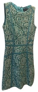 Marciano short dress Teal and Mint on Tradesy