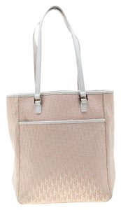 Dior Canvas Nylon Tote in Pink