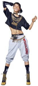 MOSCHINO [tv] H&M Moschino H&M MTV Embroidered Logo Sweat Pants