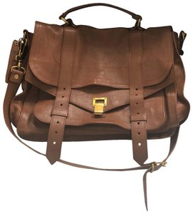 Proenza Schouler Brown/Tan Messenger Bag