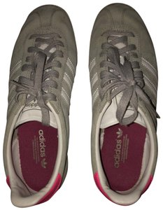adidas Gray/White/Pink Athletic