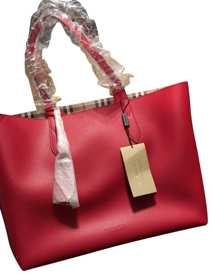 Preload https://img-static.tradesy.com/item/25998719/burberry-bag-red-canvas-tote-0-6-540-540.jpg