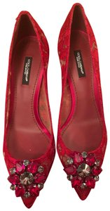 Dolce&Gabbana Red Wedges
