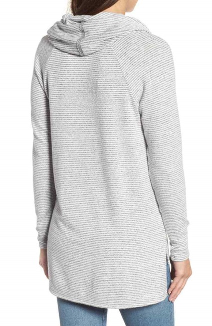 Gibson Convertible Neck Hacci Knit Cozy Tunic Nordstrom Style Sf4152wp Sweater Image 1