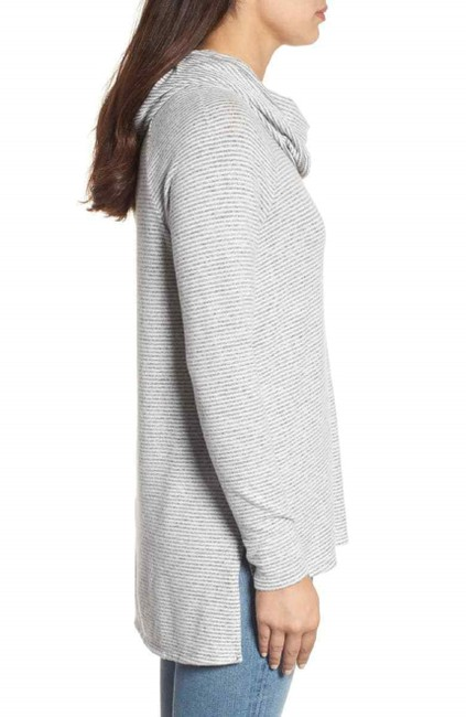 Gibson Convertible Neck Hacci Knit Cozy Tunic Nordstrom Style Sf4152wp Sweater Image 2
