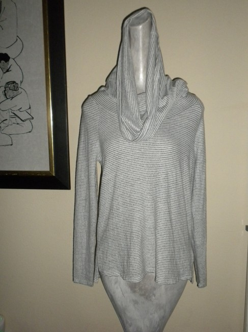 Gibson Convertible Neck Hacci Knit Cozy Tunic Nordstrom Style Sf4152wp Sweater Image 3