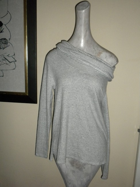Gibson Convertible Neck Hacci Knit Cozy Tunic Nordstrom Style Sf4152wp Sweater Image 4