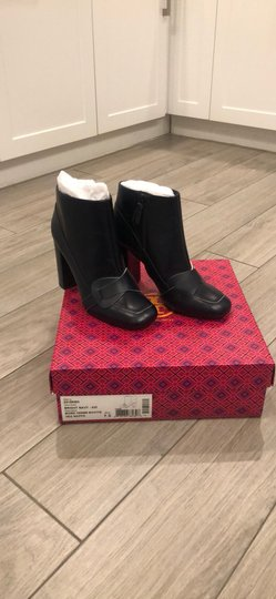 Tory Burch Navy Blue Boots Image 1