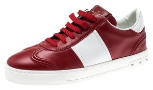 Valentino Leather Rubber Red Athletic