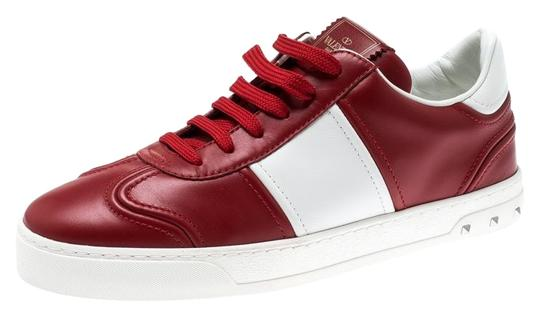 Preload https://img-static.tradesy.com/item/25998939/valentino-red-redwhite-leather-fly-crew-low-top-sneakers-size-eu-405-approx-us-105-regular-m-b-0-3-540-540.jpg