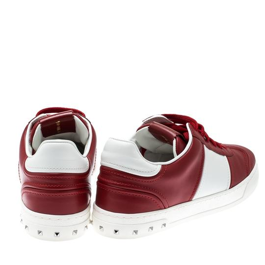 Valentino Leather Rubber Red Athletic Image 2