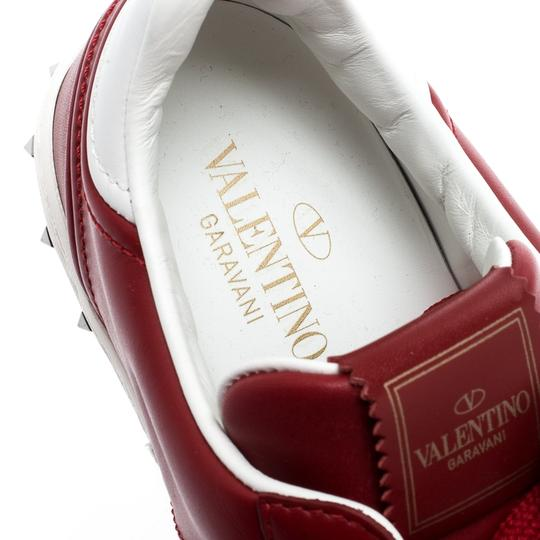 Valentino Leather Rubber Red Athletic Image 6