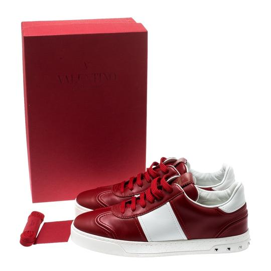 Valentino Leather Rubber Red Athletic Image 7