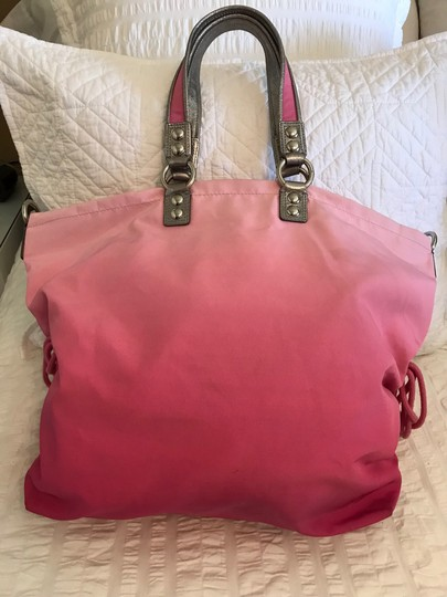 Coach Tote in Pink/ombré Image 2