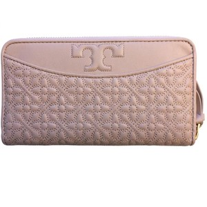 Tory Burch Bryant Zip Leather Continental Wallet