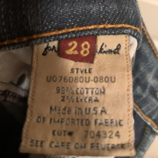 7 For All Mankind Flare Leg Jeans-Distressed Image 5