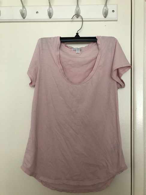 James Perse T Shirt pink Image 2