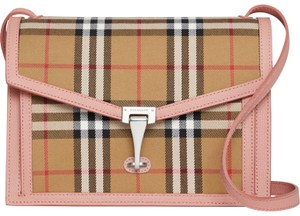 Burberry Macken Vintage Check Cross Body Bag