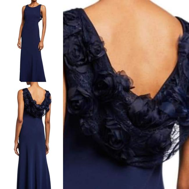 Karl Lagerfeld Applique Couture Gown Dress Image 3