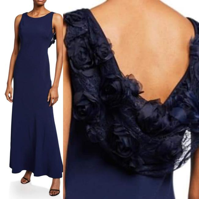 Karl Lagerfeld Applique Couture Gown Dress Image 4