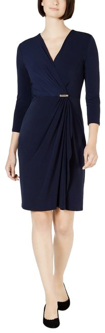 Preload https://img-static.tradesy.com/item/25999268/charter-club-intrepid-blue-faux-wrap-34-sleeve-mid-length-workoffice-dress-size-petite-12-l-0-3-650-650.jpg