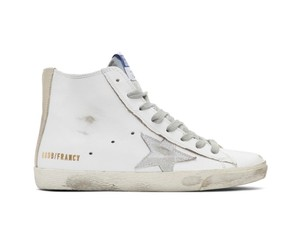 Golden Goose Deluxe Brand white&silver Athletic