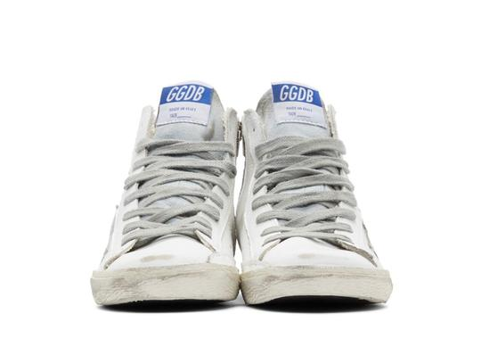 Golden Goose Deluxe Brand white&silver Athletic Image 1
