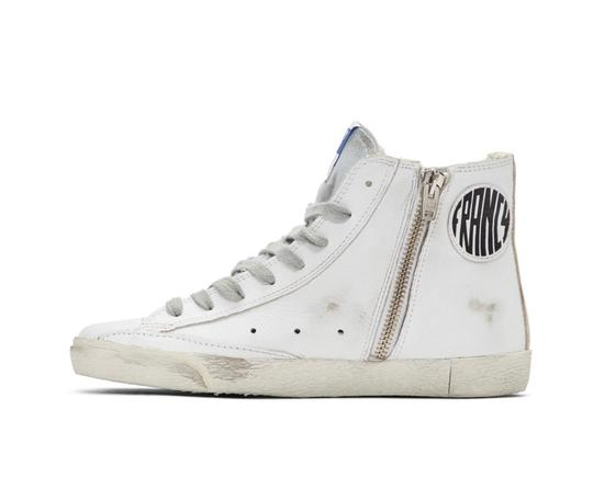 Golden Goose Deluxe Brand white&silver Athletic Image 2