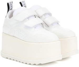 Stella McCartney White Platforms