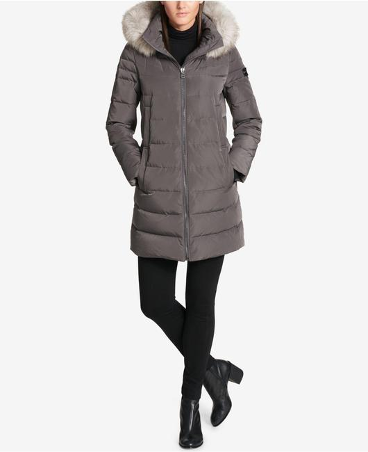 DKNY Fur Coat Image 1