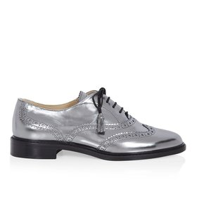 Hobbs London Brogues Loafer Silver Formal