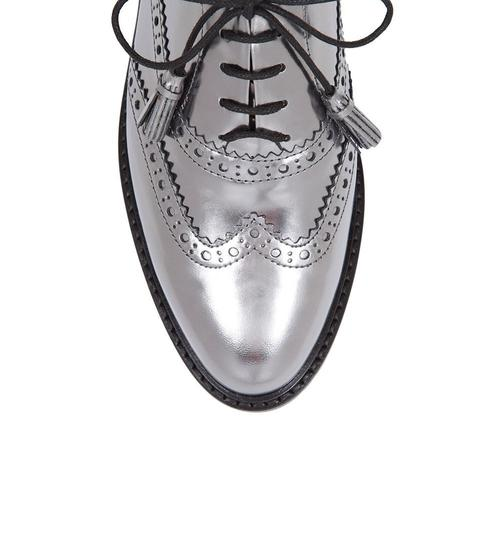 Hobbs London Brogues Loafer Silver Formal Image 2