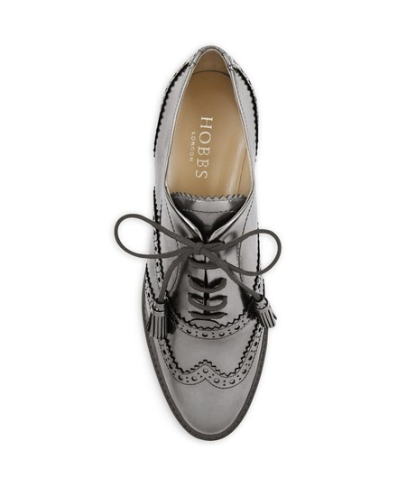 Hobbs London Brogues Loafer Silver Formal Image 3