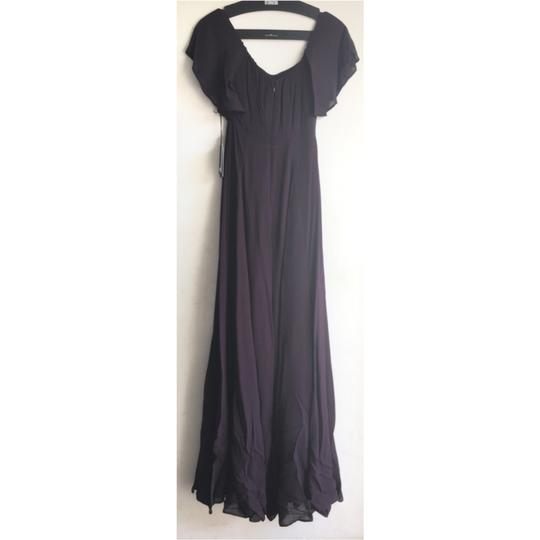Reformation Purple Florentina Feminine Bridesmaid/Mob Dress Size 4 (S) Image 5