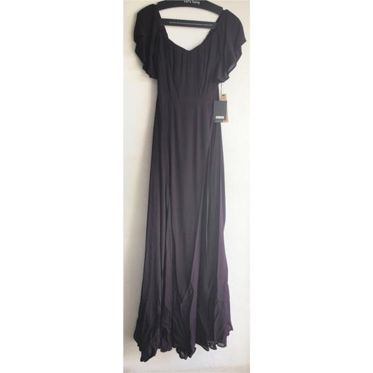Reformation Purple Florentina Feminine Bridesmaid/Mob Dress Size 4 (S) Image 6
