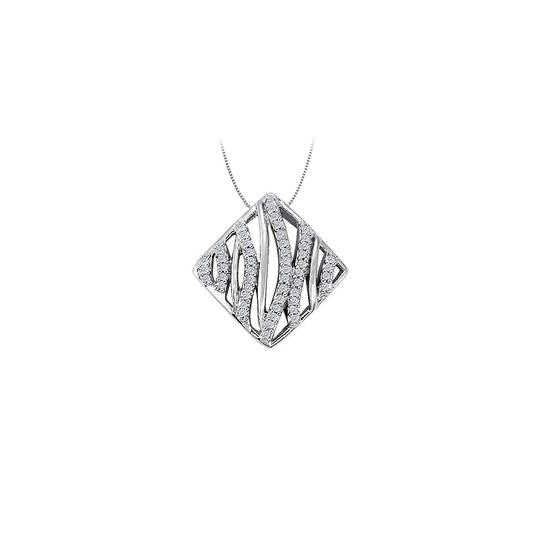 Preload https://img-static.tradesy.com/item/26000005/white-diamond-fancy-circle-fashion-pendant-in-14k-gold-025-ct-tdw-necklace-0-0-540-540.jpg
