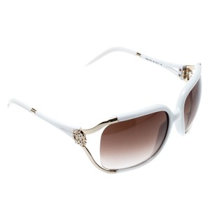 Roberto Cavalli White/ Brown Gradient Talisia 370S Oversized Sunglasses