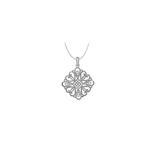 Preload https://img-static.tradesy.com/item/26000345/white-diamond-square-shaped-pendant-in-14k-gold-033-ct-tdwperfect-necklace-0-0-540-540.jpg