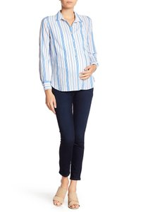 Paige PAIGE Verdugo Ankle Skinny Jeans Maternity Size 28